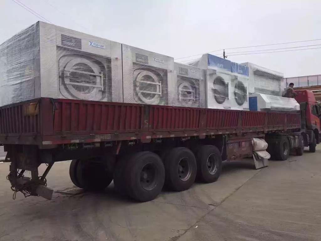 洗衣房设备发货至安徽